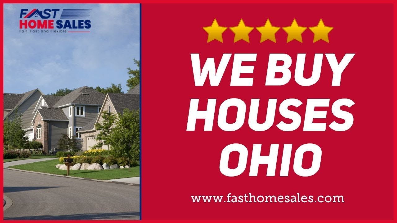 We Buy Houses Ohio - CALL 833-814-7355 - FAST Home Sales