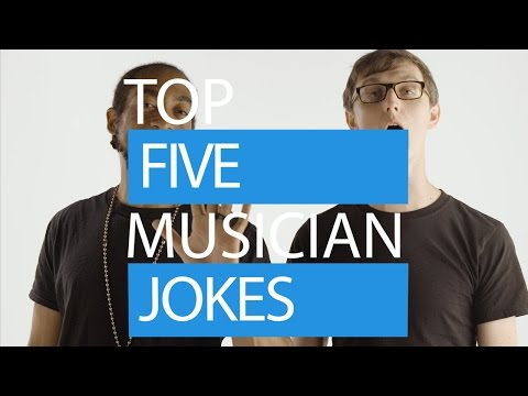 SWAG Presents: Top Five Jokes About Musicians