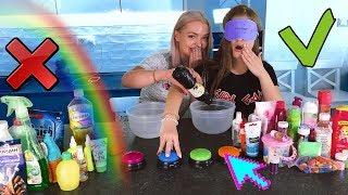 ВЫБЕРИ ПРАВИЛЬНУЮ кнопку Чтобы СЛАЙМ получися/slime challenge| СЛАЙМ ИЗ СЛУЧАЙНЫХ ингредиентов