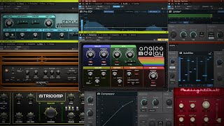 New Plugin Updates in #StudioOne Version 5!