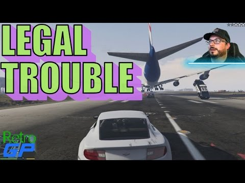 GTA 5 on PC at 60FPS !!! Legal Trouble and Risk Assessment!  - Part 40 - Retro GP