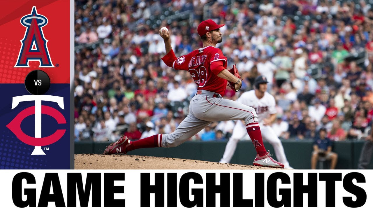 Download Angels vs. Twins Game Highlights (7/22/21) | MLB Highlights
