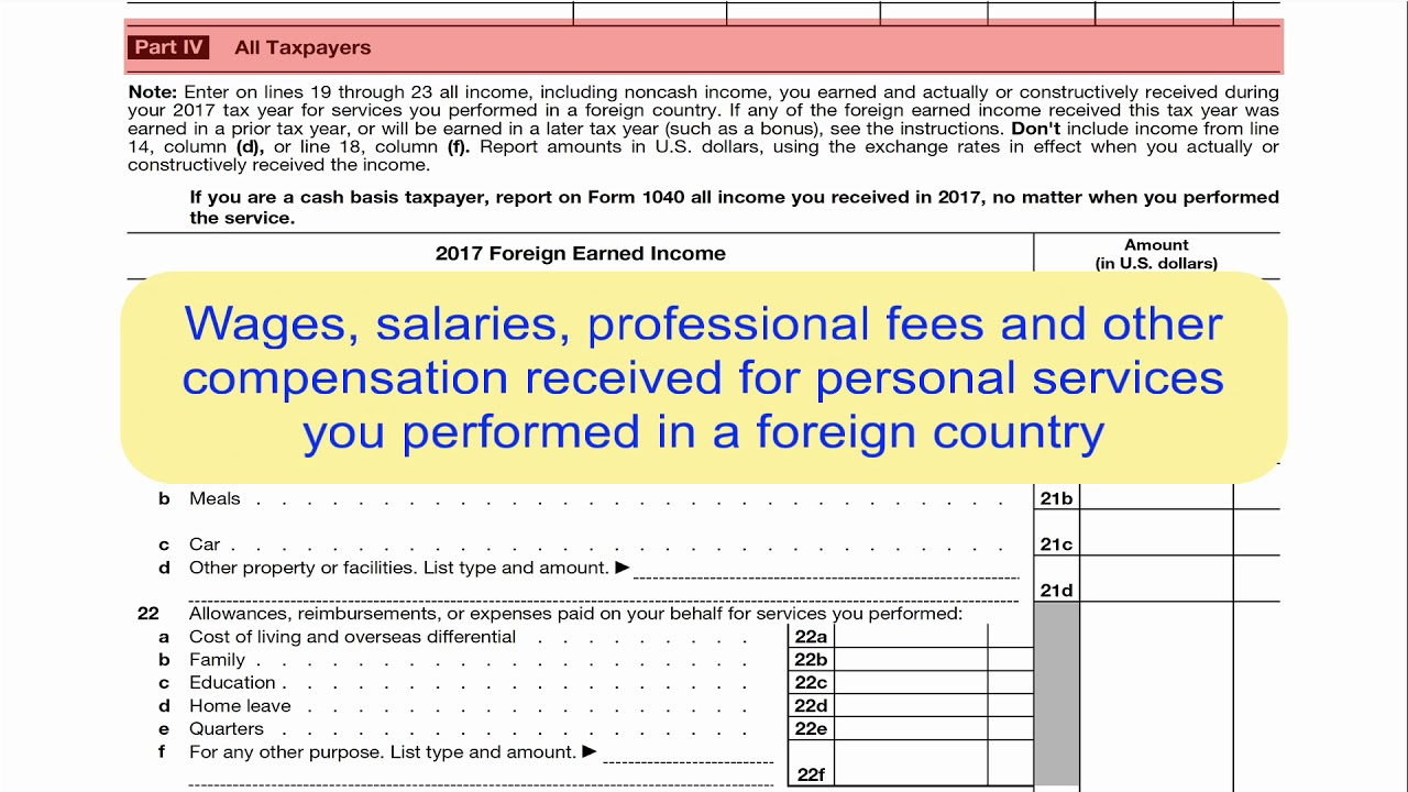 Form 2555 foreign earned income exclusion youtube form 2555 foreign earned income exclusion falaconquin