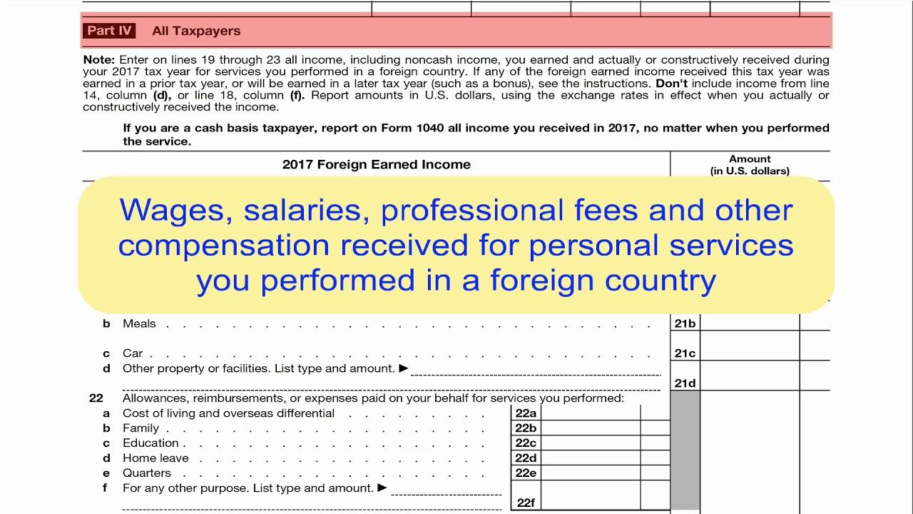 Form 2555 part iii line 16 qualifying dates accountants community.