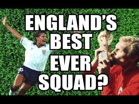 England's All-Time Greatest Squad - International Legends World Cup
