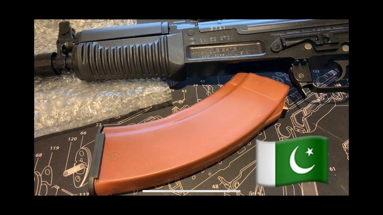 PAKISTANI 30RD AK-47 MAGAZINE 7 62x39mm (FAKE MOLOT)😱