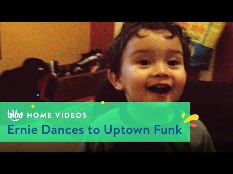 Ernie Dances to Uptown Funk   Home Videos   HiHo Kids