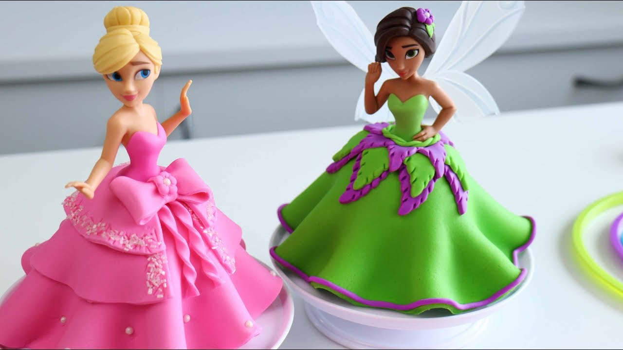 How To Make A Disney Princess Cake Youtube