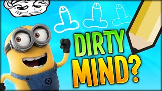 DO YOU HAVE A DIRTY MIND? CLICK TO FIND OUT! (Draw My Thing #1 w/ LDShadowLady, Simon and Brin)