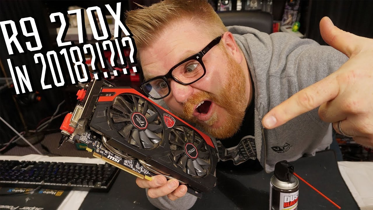 Can the AMD Radeon R9 270X still Game, Brah?
