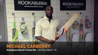 Kookaburra Cricket - Michael Carberry introduces the Recoil Cricket Bat