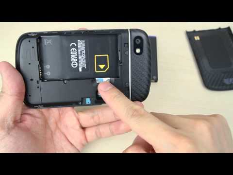 How To Insert And Remove The Micro Sim Card On Blackberry Q10