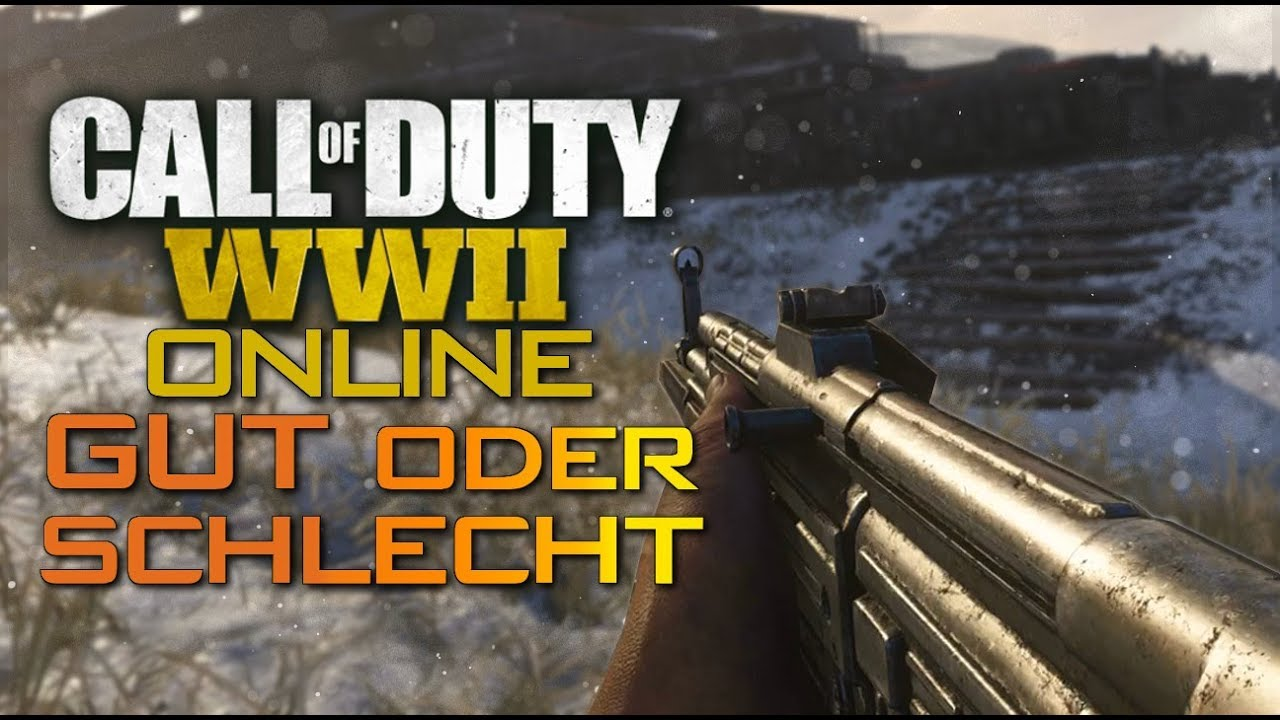 call of duty wwii gut oder schlecht youtube. Black Bedroom Furniture Sets. Home Design Ideas