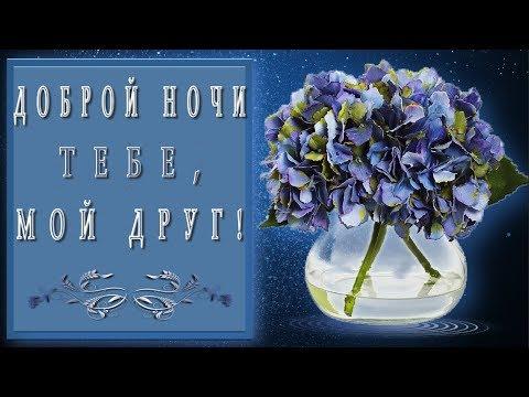 🎶💗🌙Доброй ночи тебе, мой друг!!!🎶💗🌙4K*Самое красивое пожелание Доброй ночи - Ржачные видео приколы