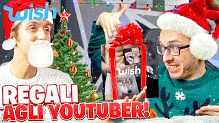 COSA REGALO AGLI YOUTUBER DA WISH?! w/ @Leo