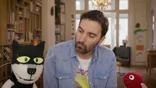 Kat en Vis stellen vragen met Ronald Goedemondt