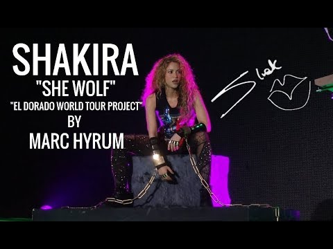 "Shakira ""She Wolf"" El Dorado World Tour Project  DVD Restored"