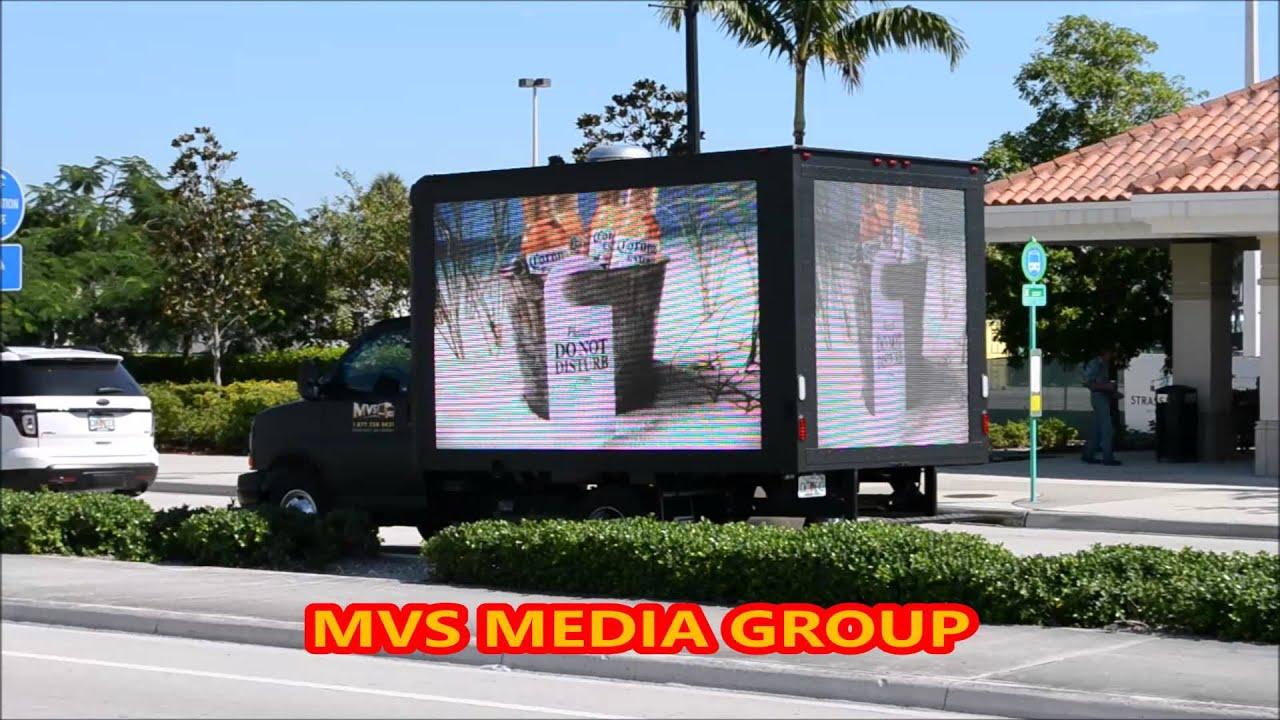 Digital Mobile LED Billboard Truck for sale - YouTube