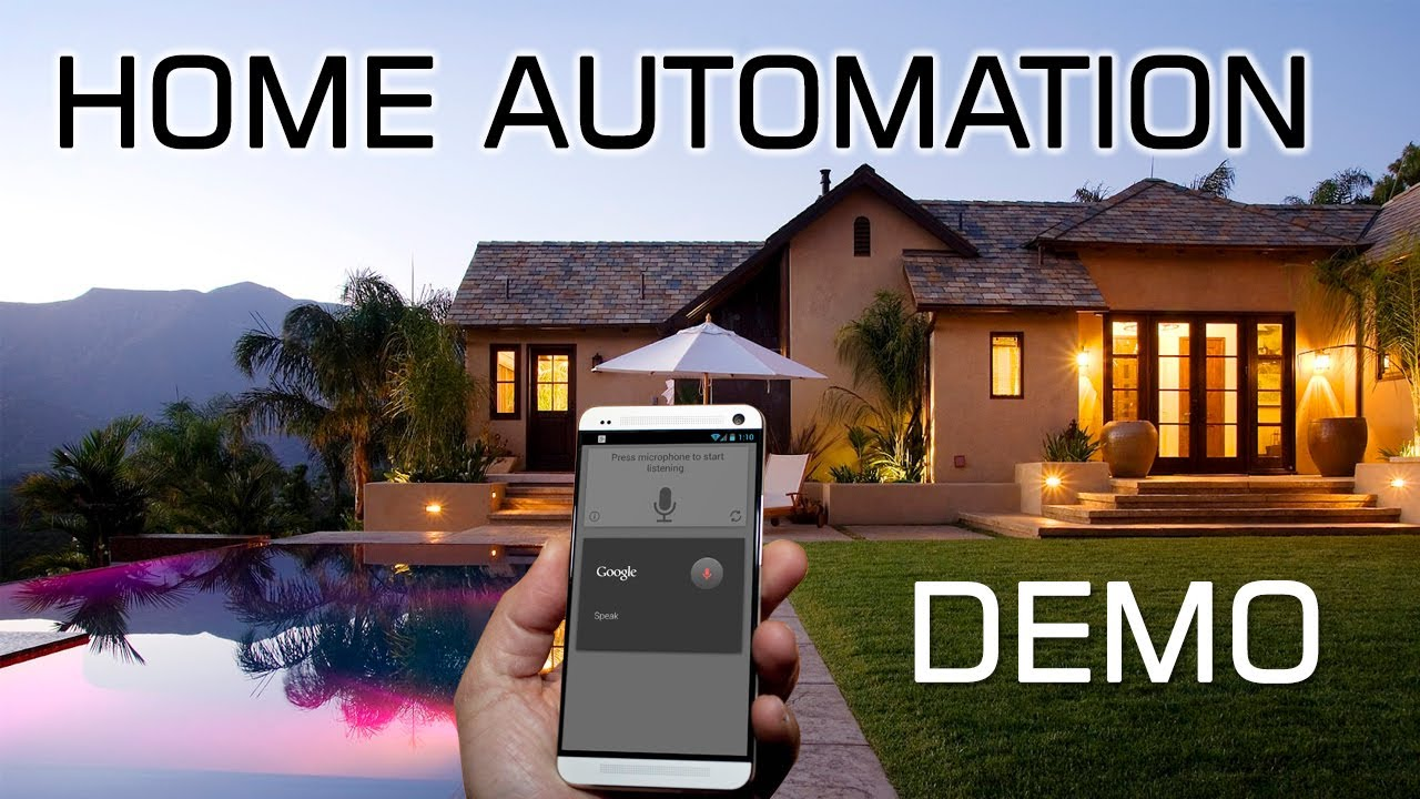 Android Home Automation Demo MiCasa Verde - YouTube