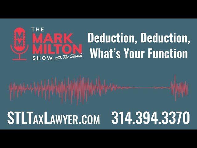 Deduction, Deduction, What's Your Function?
