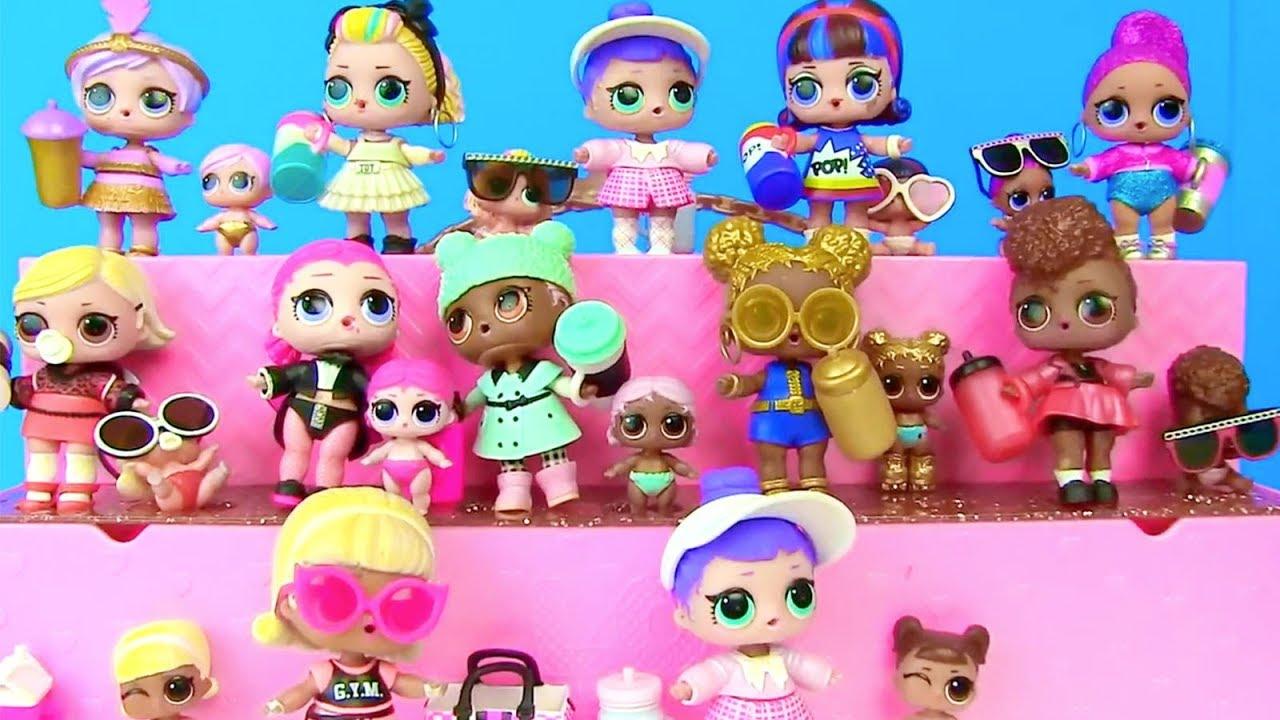 Куклы Лол и Барби Мультик! Полная Коллекция Lol Surprise ...