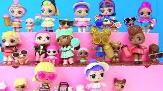 Куклы Лол и Барби Мультик! Полная Коллекция Lol Surprise UNDER  WRAPS DOLLS(4 серия) Часть3