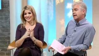 This Morning discuss Jason Gardiner argument and apology to Karen Barber 2011 Dancing On Ice