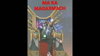 #MA KA MAGARMACH##SHORTS VIDEO#FREE FIRE ATITUDE VIDEO#