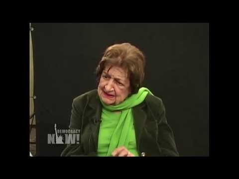 Watch Late Pioneering Journalist Helen Thomas Challenge Bush, Corporate Control of U.S. Media