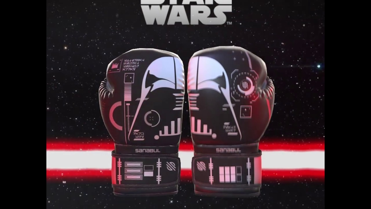 Star Wars Classic Boxing Gloves Sanabul