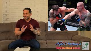 UFC Vegas 23 Free Plays and Predictions | UFC on ABC: Vettori vs. Holland Picks and Preview