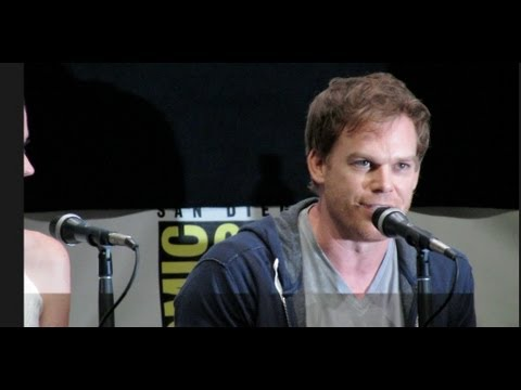 Dexter Cast confessions at ComicCon 2013 Michael C Hall
