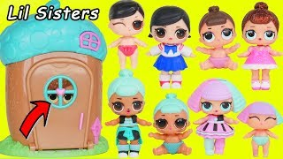 LOL SURPRISE DOLLS Sparkles at Magical House and find Custom Lil Sisters with Luxe Unicorn Pets
