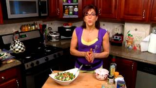 How To Make Greek Chickpea Salad : Healthy Sandwiches & Easy Sides