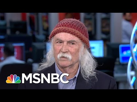David Crosby: Female POTUS Would Do A Better Job | Morning Joe | MSNBC