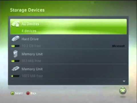 How To Make A Flash Drive Into An Xbox 360 Storage Device
