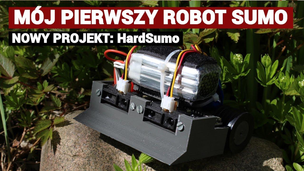 Robot do walki MiniSumo - mój projekt HardSumo #1