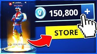 The RICHEST FORTNITE ACCOUNT!! (+150,000 V BUCKS) in Fortnite Battle Royale
