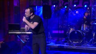 "David Letterman - Future Islands: ""Seasons (Waiting On You)"""