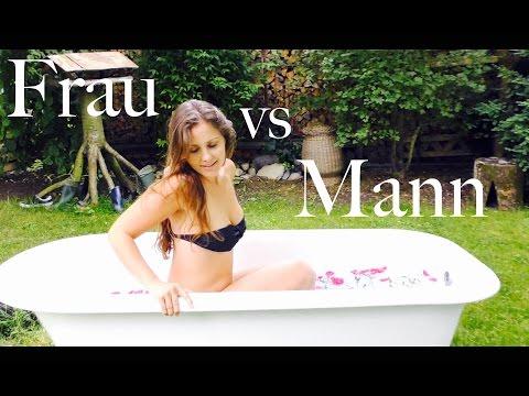 Duschen Frau vs Mann! #EchtDeineNatur (P)