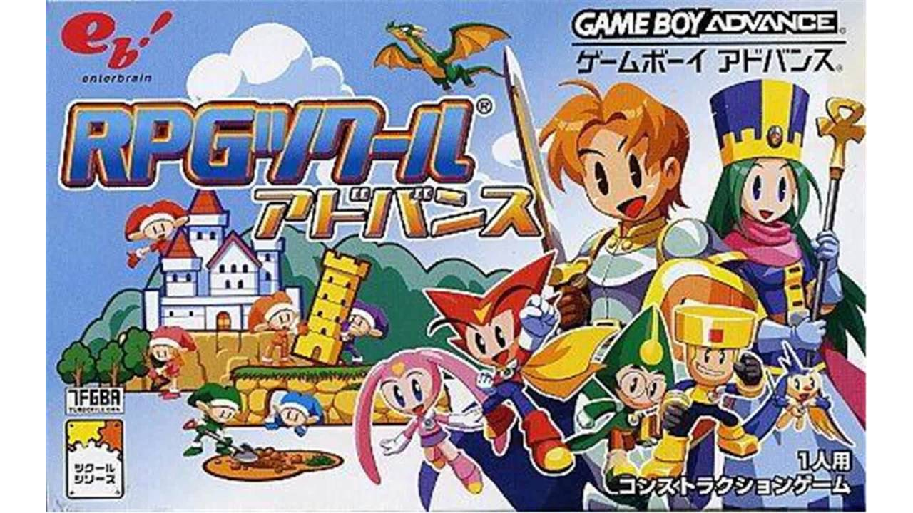 RPG Tsukuru Advance GBA - YouTube