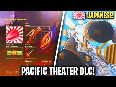 NEW PACIFIC THEATER DLC... NEW PACIFIC THEATER EVENT LEAKED! (Japanese DLC) - COD WW2 DLC UPDATE