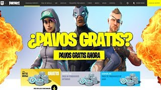 Does FORTNITE get a page to GIFT PAVOS & SKINS for FREE? Care! Fortnite Battle Royale