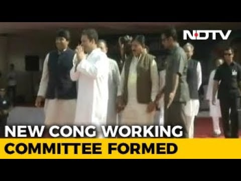 Rahul Gandhi Constitutes Congress Working Committee, New Faces Brought In