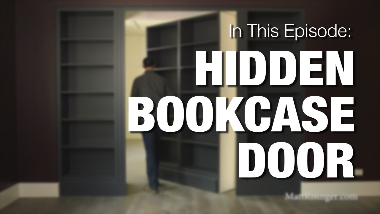 Hidden Bookcase Door - YouTube