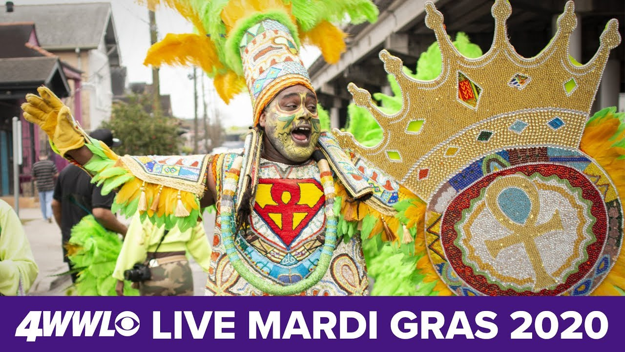 Mardi Gras 2020 In New Orleans Parades Wwltv Live Coverage Youtube