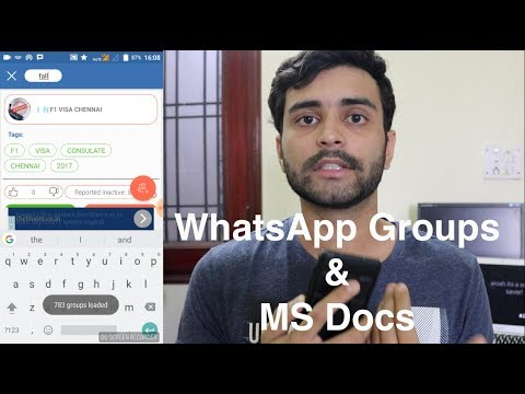 All WhatsApp groups and MS material | MS in US