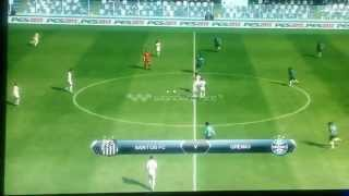 Pes 13 Pc Gameplay 2 minutes of the first Match