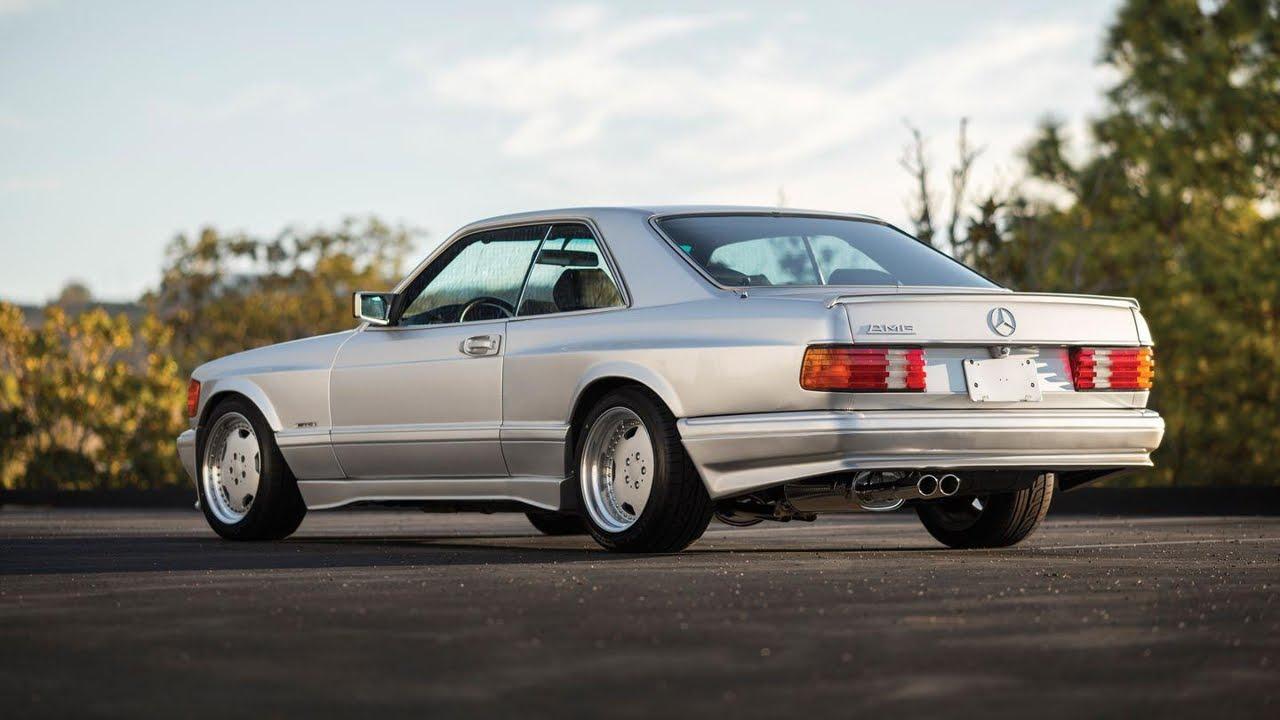 Custom Classic Car Wallpapers Mercedes 560 Sec 6 0 Amg Wide Body Youtube