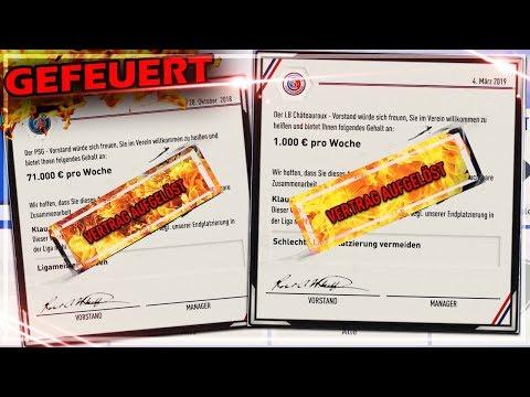 FIFA 19: Wie oft können wir in 1 SAISON GEFEUERT WERDEN ?! 🔥😱 Karriere Experiment